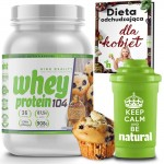 Whey Protein 104 NHT 908g.  Seria American  BLUBERRY MUFFIN