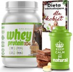 Whey Protein 104 NHT 908g.  Seria American BANANA-BROWNIE