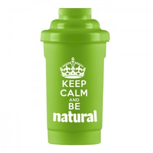 "Shaker ""Keep Calm and Be Natural"" 700ml"
