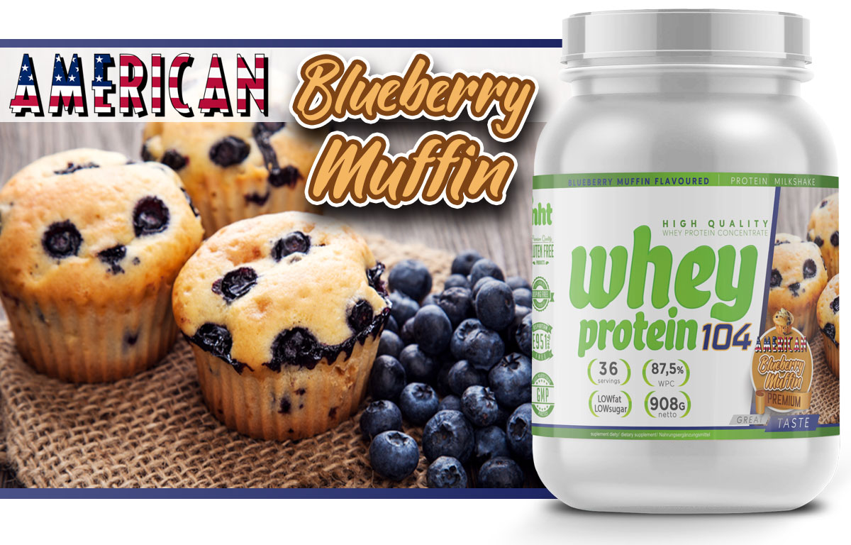 whey protein 104 blubbery muffin